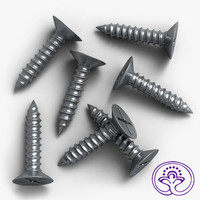 Machine Screw 3D models