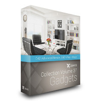 CGAxis Models Volume 37 Gadgets C4D