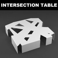 3ds intersection table design