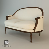 francesco molon sofa 3d fbx