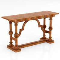 3d model stanley furniture console