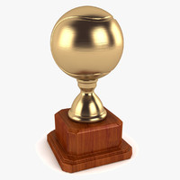 tennis ball trophy 3d 3ds