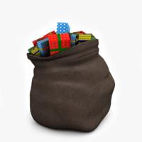 3ds santa s bag