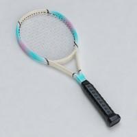 tennis racket 01 3d model