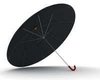 3d model of umbrella