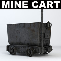 3d model of cart car