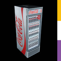 max drinks fridge coca-cola gdmretro