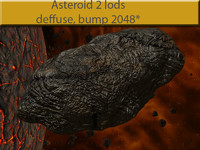 3d poli asteroid