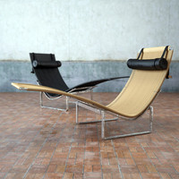 3d model pk24 chaise