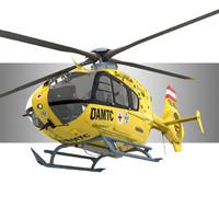 ec 135 eurocopter 3d model