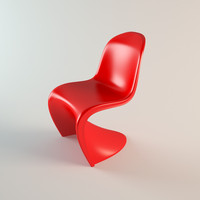 3ds 1960 panton chair
