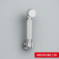 3d hand shower model