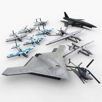 3dsmax uav unmanned aerial