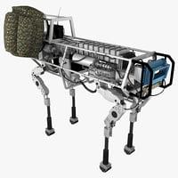 3d bigdog military robot