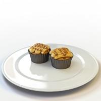 cupcake 22 3d max