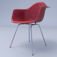 Eames Arm Chair 4-Leg Base