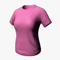 3ds max t-shirt shirt female