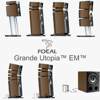 focal utopia em series 3d model