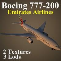 boeing 777-200 uae max