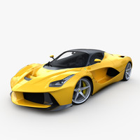 Ferrari Laferrari 2014 outside only