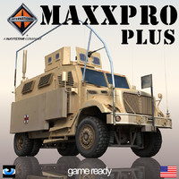 3d international maxxpro model