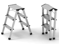 3d model of ladder step