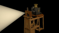 Lumieres Projector