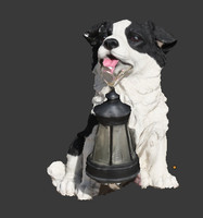 dog lamp 3d obj