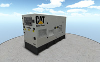 xq60 generator 3d model