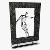 Framed Figure Man