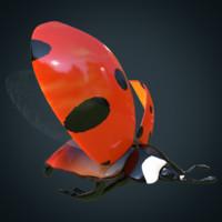 ladybug animation 3d max