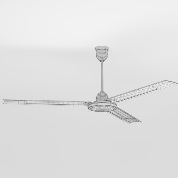 3d model ceiling fan - Ceiling fan007... by Fworx