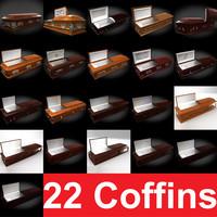 coffin 22 3d max