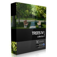 volume 34 trees iv 3d max