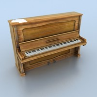 3d piano real time