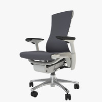herman miller embody armchair 3d model