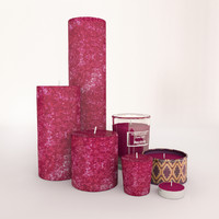 obj moroccan candles