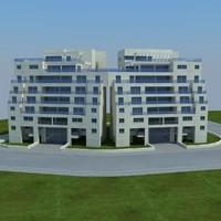 3d buildings 2 1 model