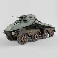 sdkfz sd kfz 3d model