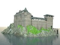 3ds max castle island