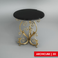 table stand 3d model