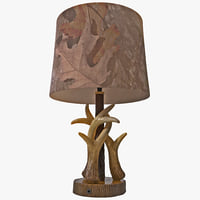 Accent Lamp Mossy Oak Deer