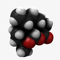 molecular artemisinin 3d lwo