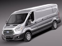 Ford Transit Low Van 2014