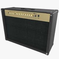 guitar amp c4d