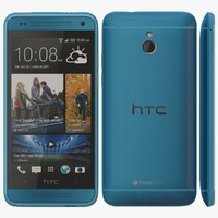 3d model htc mini blue