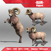 ram 3d 3ds
