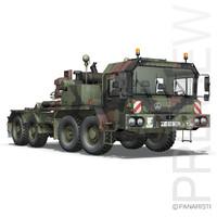 Faun STL-56 Tank Transporter
