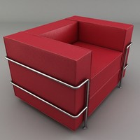 3d chair sofa