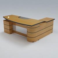 3d executive desk